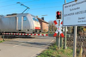 Bünde: Bahnübergang 17 Tage lang gesperrt
