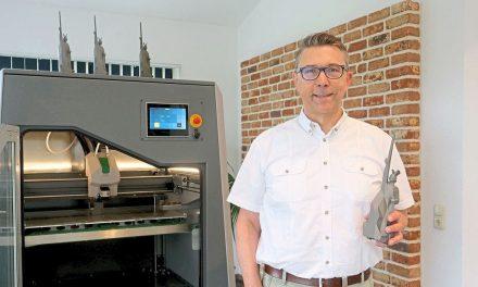 """Mini-Hermann"" aus dem 3D-Drucker"