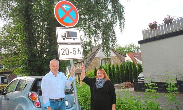 Lkw-Parkverbot soll Nachtruhe sichern
