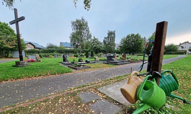 Grabfelder sollen aufgegeben werden
